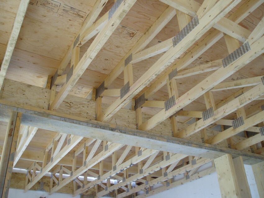 Engineered floor joists for commercial and residential for I joist vs floor truss