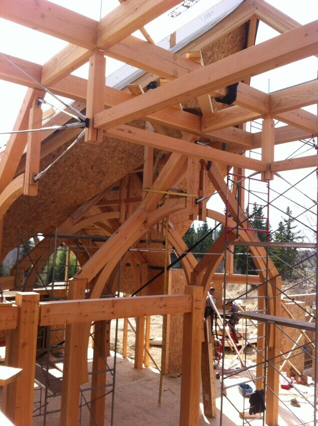 wood truss systems photo gallery
