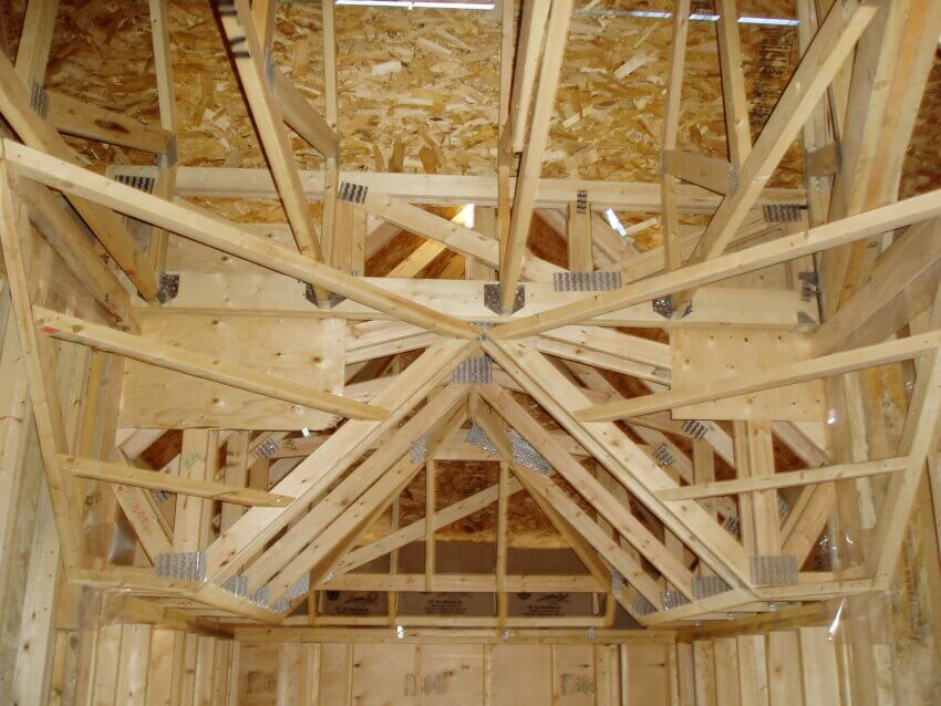 Wood trusses manufactured with quality and structure in for Wood roof trusses prices