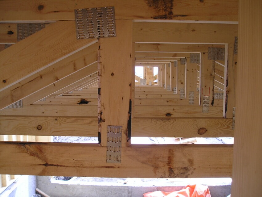 Wood Trusses Manufactured With Quality And Structure In